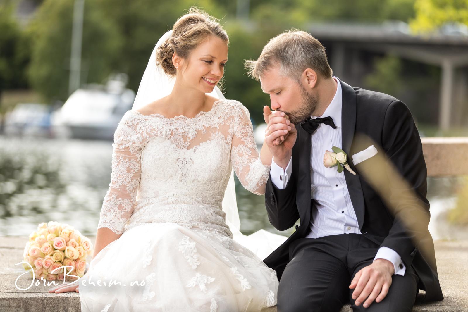 Bryllupsfoto Sandvika